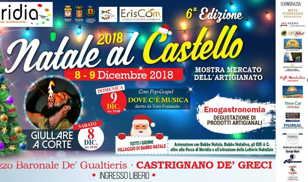 8 Dicembre 2018 – Natale al Castello – Castrignano de Greci
