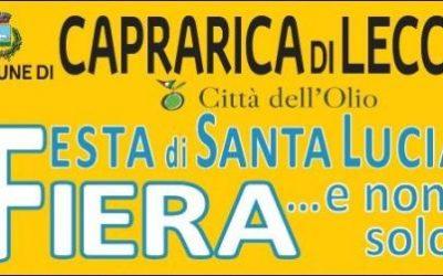 16 Dicembre Fiera di Santa Lucia a Caprarica