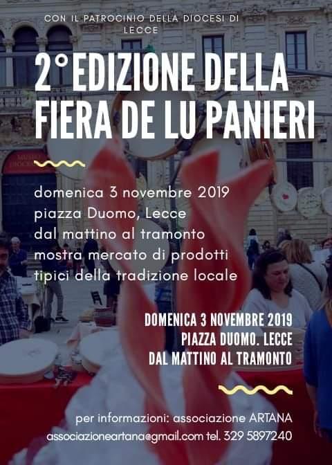 Presente! Domenica 3 novembre 2019, presso piazza Duomo Lecce